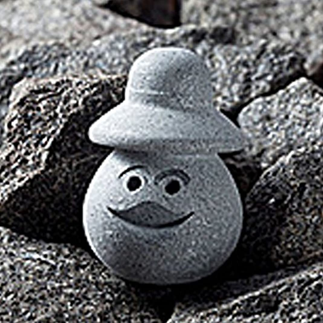 補う溶岩等HUKKA DESIGN(フッカデザイン) ソープストーン ポイントマッサージストーン(リリー) 11031