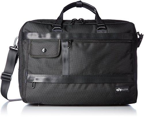 [アルファ インダストリーズ] ビジネスバッグ Colonel B5PC/タブレット対応 2ルーム縦3wayスタイル 400100001 BK