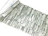 3world シール壁紙 W45cm 長さ10m PVC素材 SW386 3Dストーン グレー