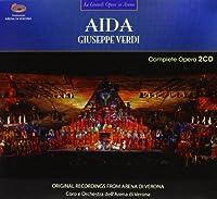 『アイーダ』全曲 オーレン&アレーナ・ディ・ヴェローナ、ニッツァ、フラッカーロ、他(2009 ステレオ)(2CD)