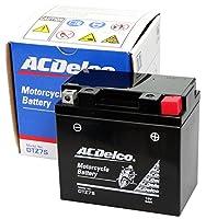 ACDelco [ エーシーデルコ ] シールド型 バイク用バッテリー [ 液入充電済 ] DTZ7S