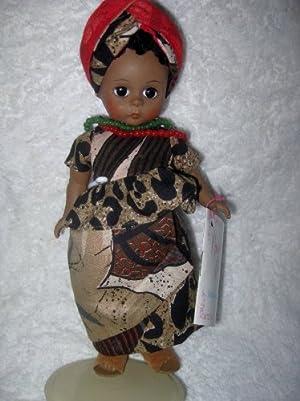 Madame Alexander (マダムアレクサンダー) Dolls of the World Rare Africa Doll in Box #523 ドール 人形 フィギュア(並行輸入)