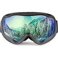 ゴーグル 曇り止め 冬物 フレーム スキーゴーグル 多色 ユニセックス アダルト -AdiSaer