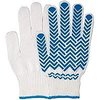 おたふく手袋 軽作業手袋 天然ゴムスベリ止め付き グッドキャッチ 5双組 G-322 M/Lサイズ