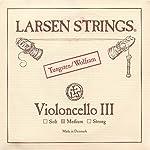 Larsen 4/4 Cello G String Medium Tungsten-Steel 【TEA】 [並行輸入品]
