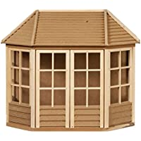 Melody Jane Dollhouse Summer House Garden Shed Ready Built Unfinished Wood 1:12 Scale