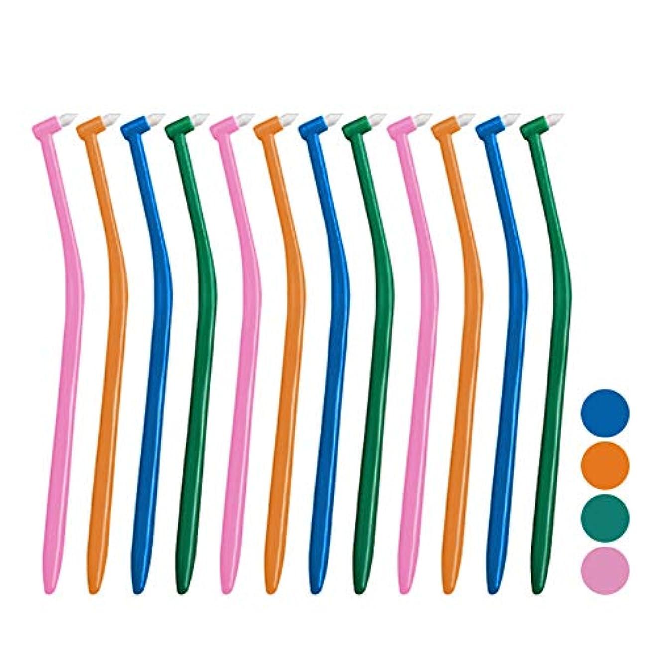 トチの実の木低下針サムフレンド p(ピー) シリーズ ピー アリーボ (ワンタフト) × 12本セット (ミディアム)