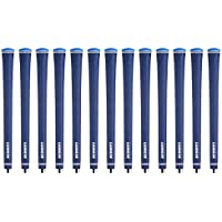 Lamkin UTxソリッドブルー標準13 Pieceゴルフグリップバンドル(