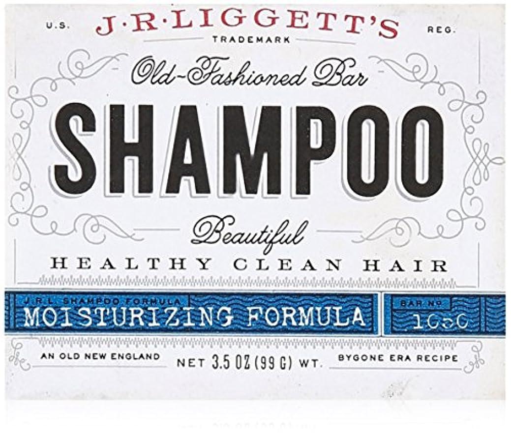 スキー中世の拒絶J.R. Liggetts Bar Shampoo, Damaged Hair, 3.5 Oz