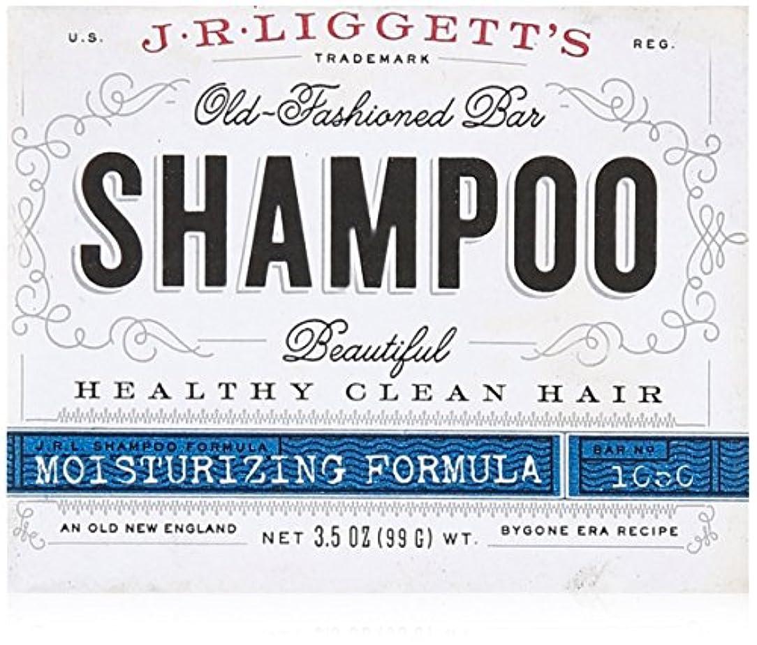 収束褐色車J.R. Liggetts Bar Shampoo, Damaged Hair, 3.5 Oz
