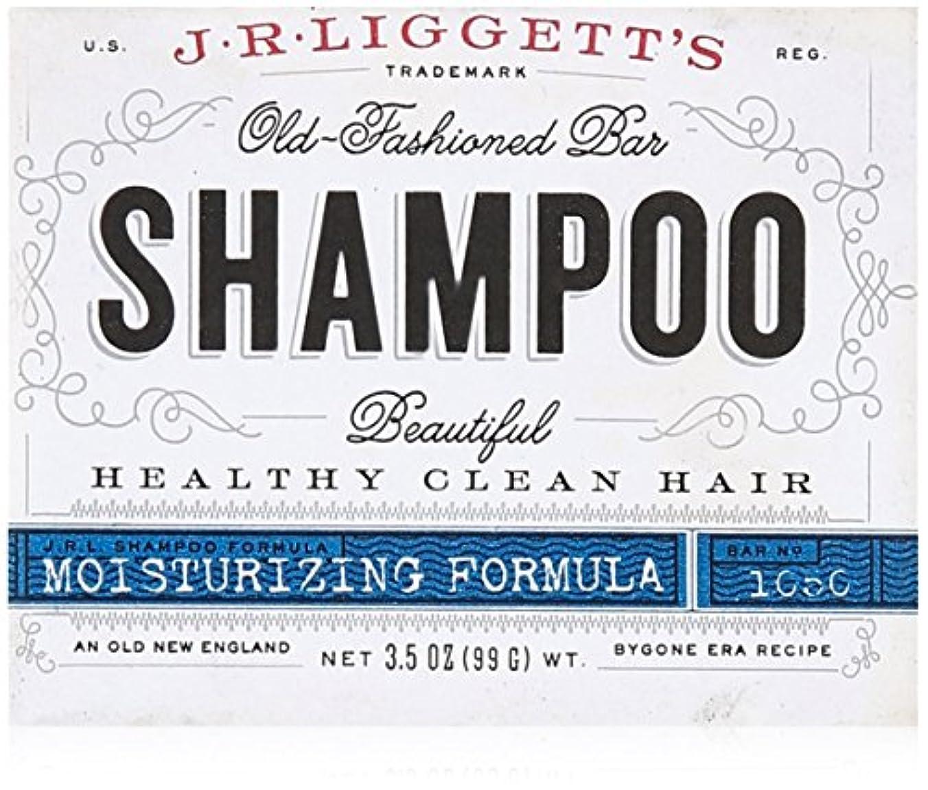 いわゆるコントラスト太平洋諸島J.R. Liggetts Bar Shampoo, Damaged Hair, 3.5 Oz