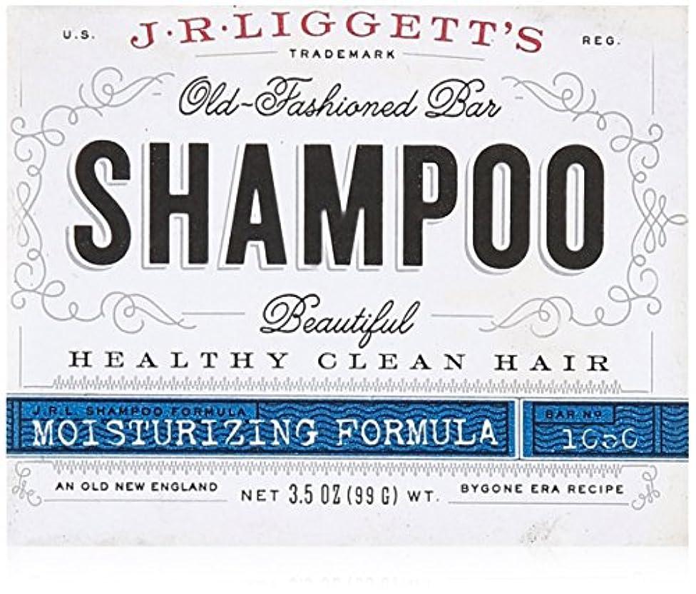 百科事典力温帯J.R. Liggetts Bar Shampoo, Damaged Hair, 3.5 Oz