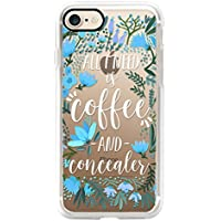 Casetify iPhone 7 ケース ルーシー・ヘイル Coffee & Concealer by CatCoq 【日本正規代理店品】 CTF-4136255-298601