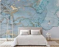 Mbwlkj レトロ高品質ファッションシルク布3D壁紙高級ブルーブロンズテクスチャテレビ背景壁紙家の装飾-250cmx175cm