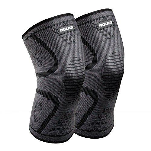 膝サポーター 二個セット 膝 膝用 膝固定 関節靭帯保護 薄型運動用膝サポーター 関節固定 伸縮性 通気性 スポーツ アウトドア (Mサイズ)