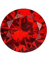 カラーダイヤモンド ブリリアントカット ルース 2.4mm 1個 レッドコニャック クラリティ:SI diac-rdc-2.4mm