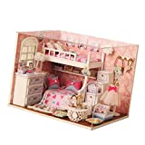 Lovoski 綺麗 DIY ミニチュア ドールハウス 家具セット ドールルーム 家庭 オフィス 装飾 子供 想像力を養う 玩具 贈り物  - 01