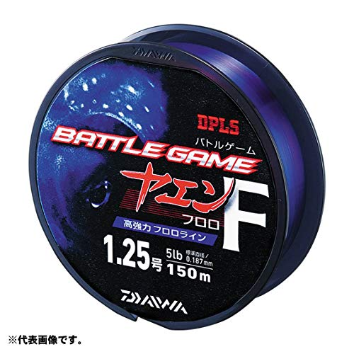 【12%OFF】ダイワ(Daiwa)フロロカーボンラインバトルゲームヤエン150m2号クリアー