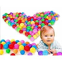 Pit BallsカラフルなソフトプラスチックOcean Swim Pit Ballsベビーキッドおもちゃ玩具ボール20 / 50 / 100個 HYH201203
