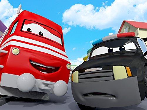 タイラーがベースボールをカーシティーで投げまくる! & パトカーのマットが具合悪くてスピード違反に追いつけない!