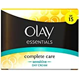 Olay Complete Care Daily Sensitive UV Cream SPF 15 (50ml) オーレイコンプリートケア毎日の敏感なuvクリームspf 15 ( 50ミリリットル)