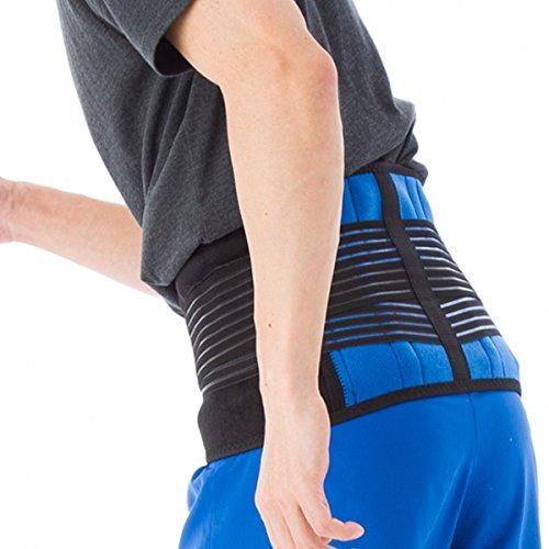 yamasaki 腰用サポーター スポーツタイプ 腰痛ベルト コルセット 大きいサイズ 【 5L XXXXL (4XL) 122-137cm 】男女兼用