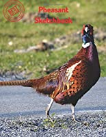 Pheasant Sketchbook: Blank Paper for Drawing, Doodling or Sketching 120 Large Blank Pages (8.5x11) for Sketching, inspiring, Drawing Anything Kids Love to do and to Improve Drawing Skills, imagination, gifts for kids (Sketch Book) (Sketchbook for Girls)