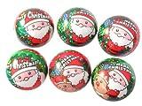 サンタクロース やわらかクリスマスボール 12個入り