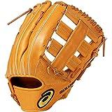 asics(アシックス) 硬式 野球用 グローブ 外野手用 (右投げ用) 高校野球対応 GOLD STAGE ROYAL ROAD ゴールドステージ ロイヤルロード サイズ12 2019年モデル 3121A191 ライトブラウン LH(右投げ用)