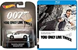 You Only Live Twice James Bond Blu Ray+ DHD & Toyota 2000GT Roadster Car 007 Set Hot Wheels Die-Cast edition movie Set