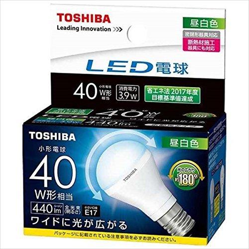 東芝ライテック LED電球(ミニクリプトン形) LDA4NGE17S40W 1個