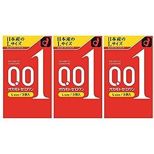 オカモト ゼロワンLサイズ 3個×3箱入の関連商品1