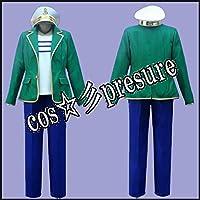 65 【cos-presure】ディズニー マイフレンドダッフィー ミッキーマウス 風☆彡コスプレ