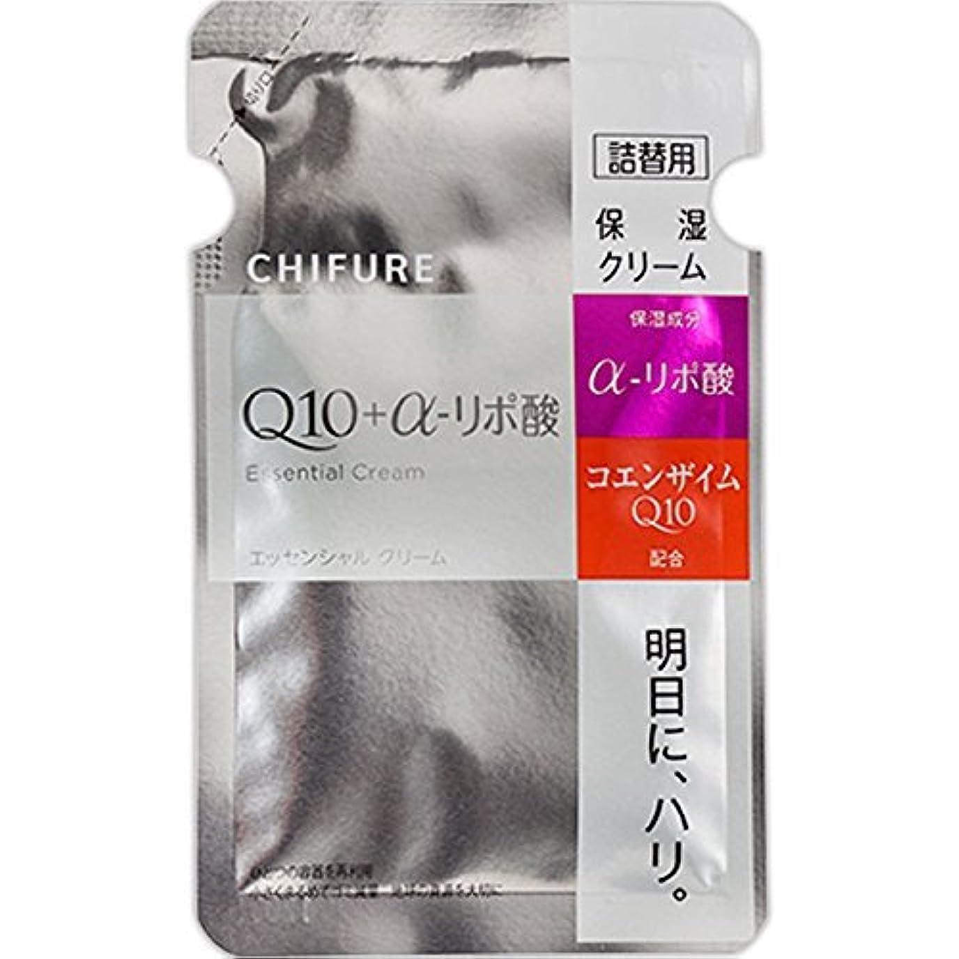うねる敵ブロックするちふれ化粧品 エッセンシャル クリーム 詰替用 30G