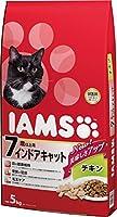 アイムス (IAMS) シニア猫用(7歳以上) インドアキャットチキン 5kg [キャットフード・ドライ]