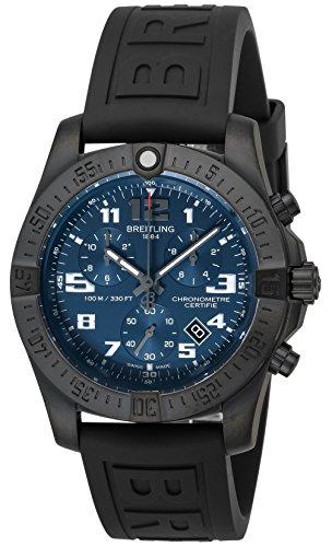 [ブライトリング]BREITLING 腕時計 Chronospace Evo Night Mission ブルー文字盤 V7333010C939 メンズ 【並行輸入品】