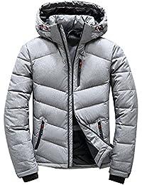 ダウンコート メンズ ダウンジャケット ショット丈 コート フード付き 大きいサイズ ビジネスコート アウトドアウェア 防寒着 防風 アウター