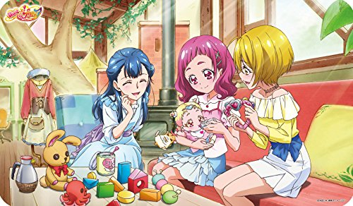 キャラクターラバーマット 『HUGっと!プリキュア』 HUGっと!プリキュアB (ENR-028)
