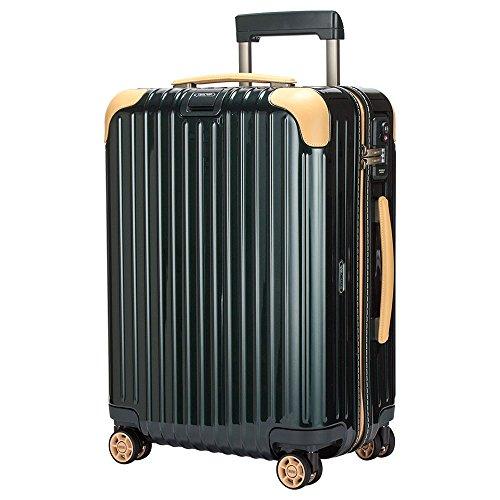 リモワ RIMOWA ボサノバ 37L 4輪 870.53.41.4 キャビンマルチホイール キャリーバッグ ジェットグリーン/ベージュ Bossa Nova Cabin MultiWheel スーツケース [並行輸入品]