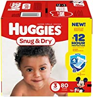 Huggies Snug and Dry Diapers - Size 3-80 ct by Huggies