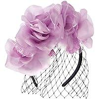 Morgan & Taylor Women's Christa Fascinator Sun Hats, Lilac, One Size