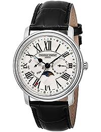 [フレデリック・コンスタント]FREDERIQUE CONSTANT 腕時計 パスエイション シルバー文字盤 ムーンフェイズ 270M4P6 メンズ 【並行輸入品】