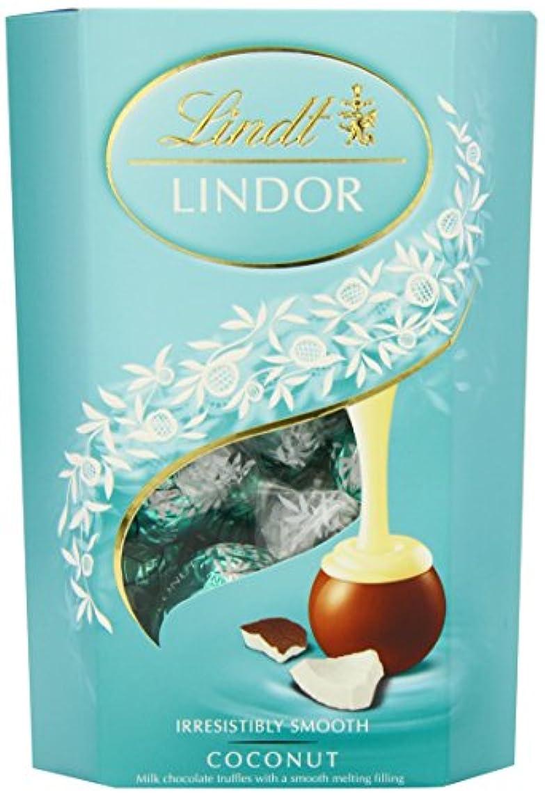 処理する正直考古学Lindt Lindor Coconut Milk Chocolate Truffles (200g) リンツlindorココナッツミルクチョコレートトリュフ( 200グラム)