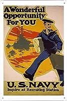 第一次世界大戦のティンサイン 金属看板 ポスター Tin Sign Metal Poster Plate plaque WW101-0225