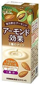 グリコ アーモンド効果 3種のナッツ 200ml×24本