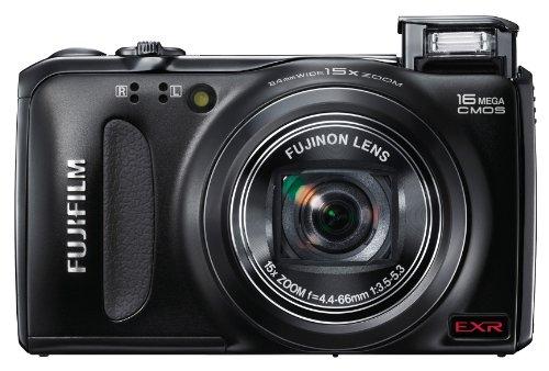 Fujifilm FinePix f505?16?MP CMOSセンサー、15?x光学ズームデジタルカメラwith 4?GBクラス10?SDメモリカード