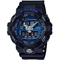 G-SHOCK Men's GA710-1A2 Year-Round Analog-Digital Automatic Black Watch