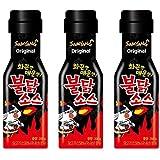 [三養] ブルダック炒ソース 200g X 3本セット / 韓国食品/韓国ソース/辛口ソース/ブルダック炒め麺/激辛