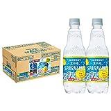【Amazon.co.jp 限定】サントリー 天然水スパークリングレモン 強炭酸超実感パック工場出荷後最短3日お届け 500ml×24本