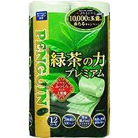 緑茶の力プレミアム12ロール3枚重ね20m